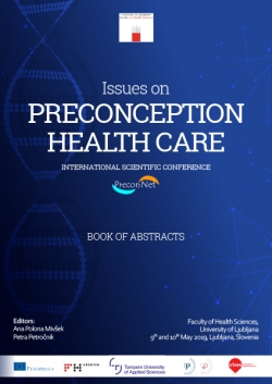 Issues on preconception health care : international scientific conference